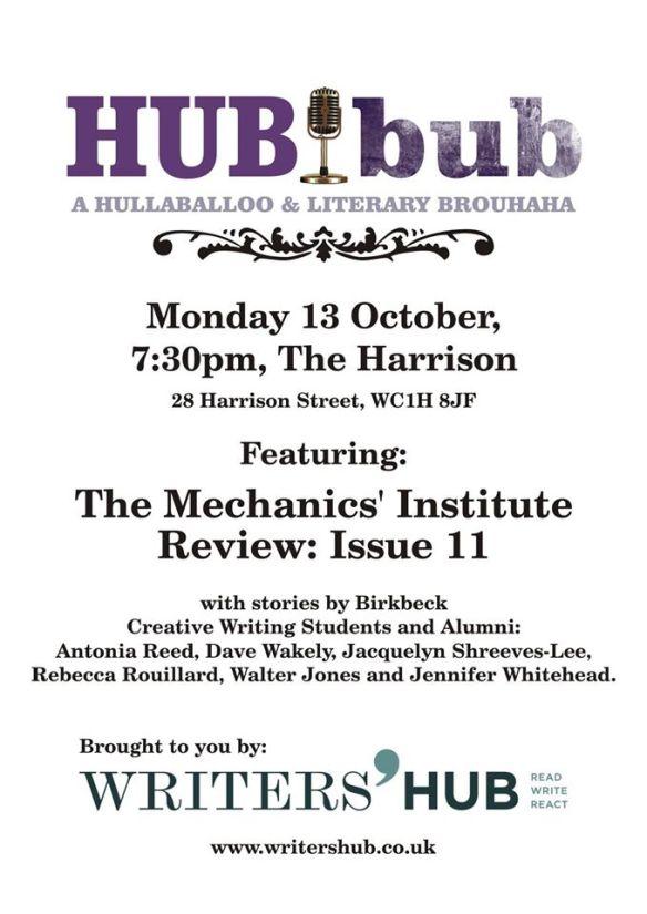Hubbub October 2014